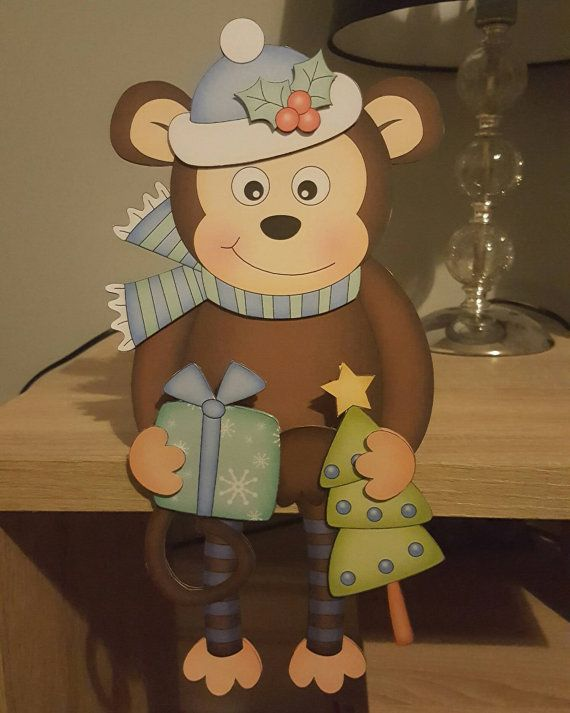 Check out this item in my Etsy shop https://www.etsy.com/uk/listing/486721901/monkey-in-blue-on-the-shelf-christmas