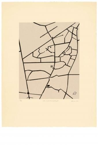 Zarina Hashmi, Cities I Called Home - Aligarh, Image dimension: 40.6 x 31.8 cm