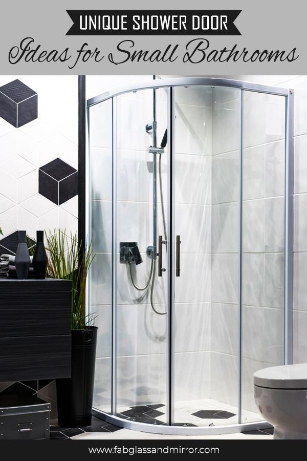 Unique Shower Door Ideas For Small Bathrooms With Images