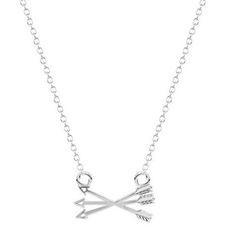 """Pijl Ketting """"Three Arrows"""" Silver Plated of Gold Plated"""