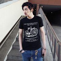 Men T-shirt The Beatles Rock Band Printing mens t shirts fashion 2015 More pictures Men Black Size M-3XL Free Shipping