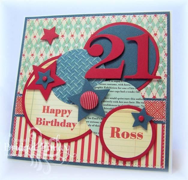 21st Birthday Card Handmade Inspiration Pinterest