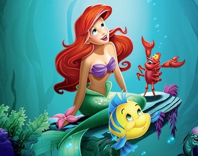 Did you know that over one million bubbles were drawn for The Little Mermaid?