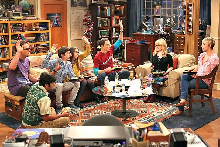The Big Bang Theory's season-eight premiere