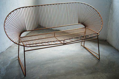 iron love seat by tucurinca