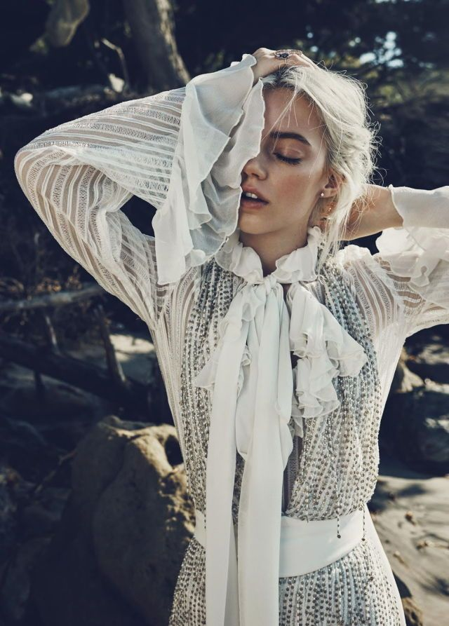Pyper America Smith by Beau Grealy for US Marie Claire january 2016