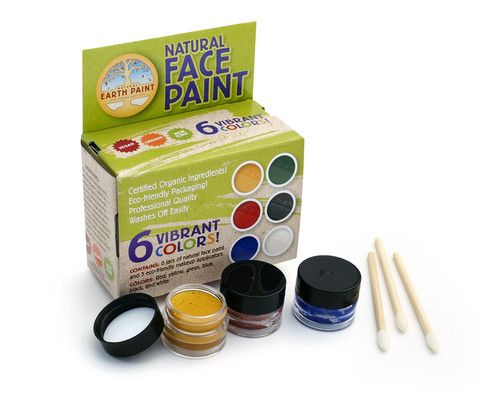 Natural Earth Paint - Natural Face Paint Kit