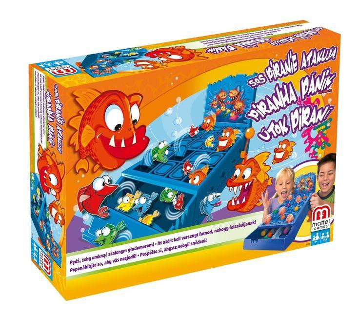 Gra przygodowa Kids Games S.O.S Piranie atakują N1708