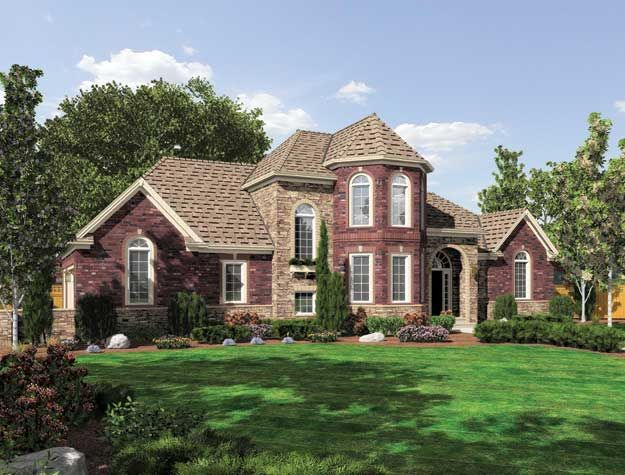 Beautifully designed 3 bedroom european style home for European country house plans