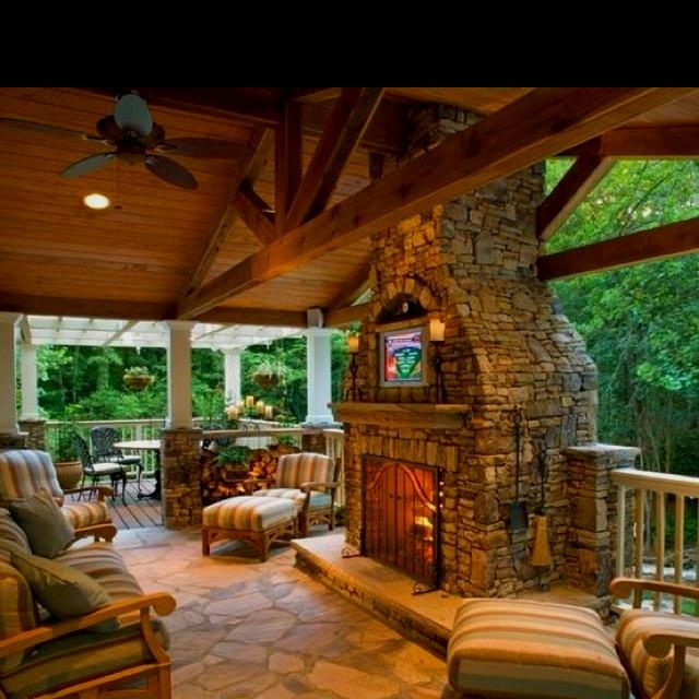 Beautiful outdoor space | Beautiful outdoor living space ... on Beautiful Outdoor Living Spaces id=11338