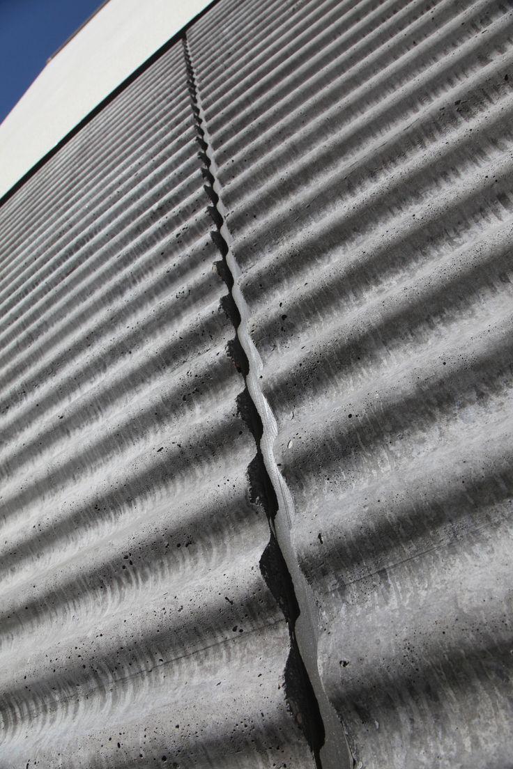 Väduren, Trelleborg, Sandwichelement med sinusmatris – © Abetong