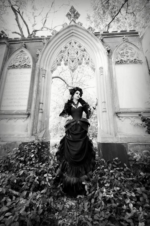 gothicrealm:  Model, Hair  Make-Up:Mademoiselle KarmaPhotographer: T-ArtsNecklace:DeadDoll's Needful Things