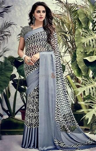 Faciable Black,Grey Printed Georgette Cheap Saree For Working Women    #CasualSarees #DesignersAndYou #DesignerCasualSarees #Sarees #DesignerSarees #DailyWearSarees #SareesOnline #CheapSarees #CheapestSarees #LowPriceSarees #BestSarees #BestPriceSarees #DesignerSari #LowPriceSari #CheapSari  #SilkSari #SilkSarees #GeorgetteSarees #GeorgetteSari #GeorgetteSaris