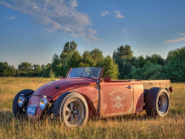 custom hot rod / rat rod volksrod beetle pickup | eBay