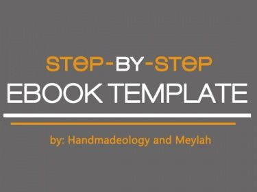 FREE Download: Handmadeology - Meylah ebook Template | Meylah
