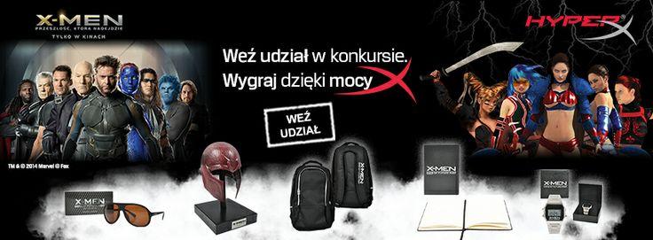 Filmowa e-MOCje: Kup jeden z produktów HyperX i wygraj gadżety X-MEN! #xmen #hyperx #movie   www.konkurs-hyperx.komputronik.pl
