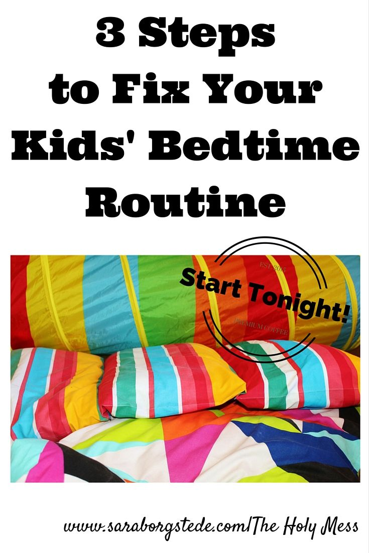Is bedtime at disaster with little ones at your house? Help is on the way! 3 steps to fix your kids bedtime routine -- starting tonight!