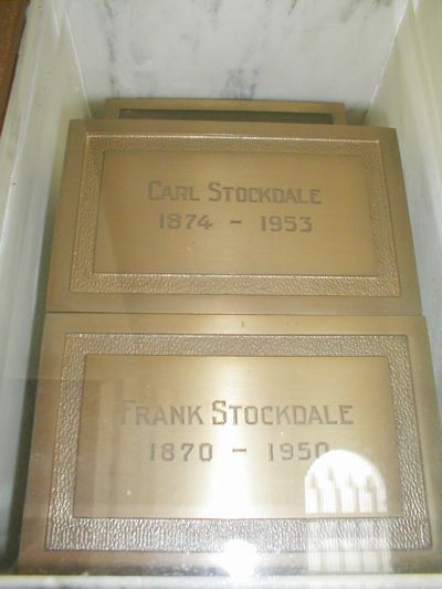 """Carl Stockdale - Prolific Actor. Brother of actor Frank Stockdale, Carl was a very good friend of Mary Miles Minter's mother, Charlotte Shelby, admitted on the witness stand that he was with Mrs. Shelby when movie director William Desmond Taylor was murdered, therefore Charlotte could not have killed him. Stockdale concluded that he suspected Taylor's one-time chauffer, """"Sands,"""" was responsible for the murder. Stockdale appeared in 230 films."""