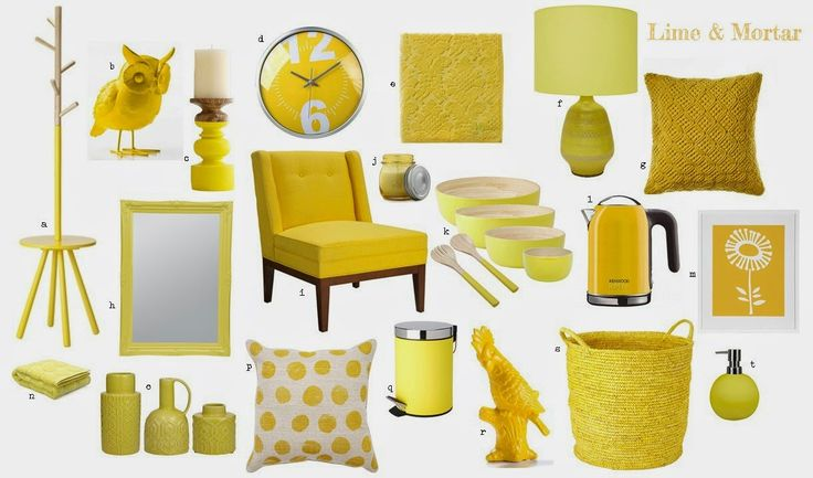 Lime & Mortar: Colour Pop Yellow