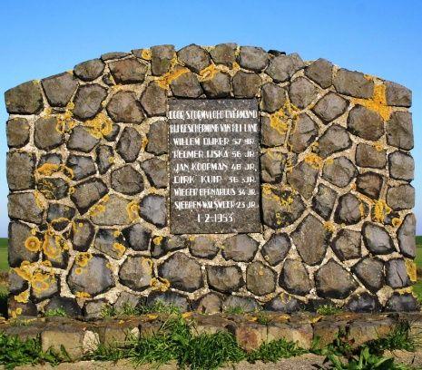 Monument Texel watersnoodramp 1953 artikel NPO geschiedenis
