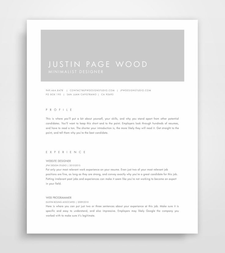 Best Professional Images On   Resume Templates Cover