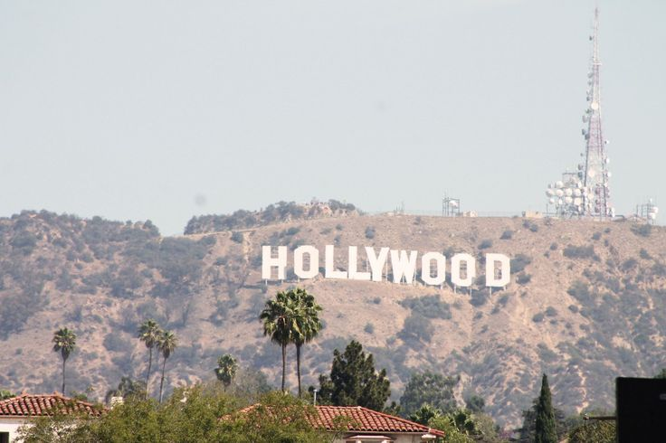 Natürlich muss man auch einen Blick auf den legendären Hollywood-Schriftzug werfen!