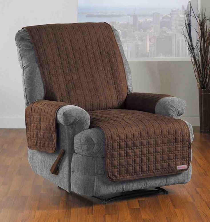 quickcover studio sized waterproof recliner u0026 chaise protector overstock shopping big discounts on chair slipcovers