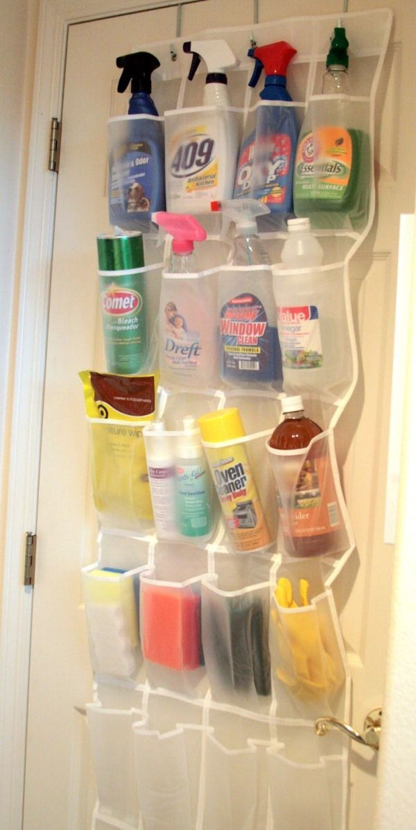 Best 25 Cleaning Supply Storage Ideas On Pinterest