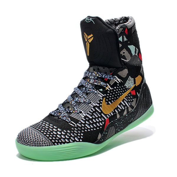 2f4c09153660 wholesale mens basketball shoe nike kobe 9 elite black gray orange 20728  0e3c3  netherlands nike kobe ix elite devotion gumbo pack kicks in 2018  pinterest ...