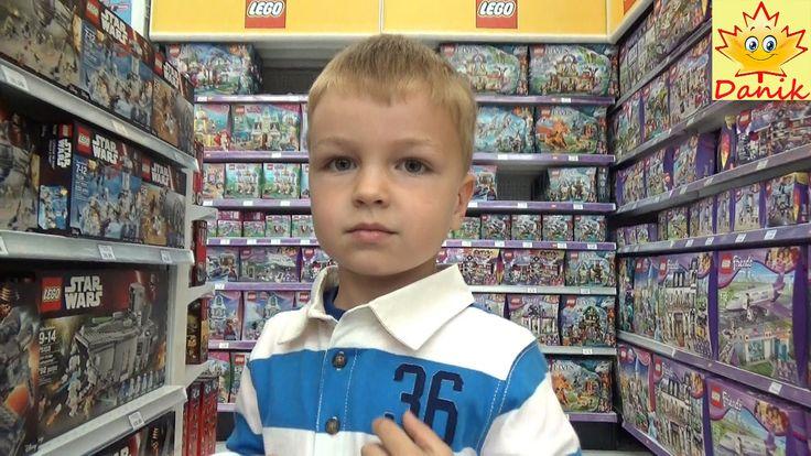 🍁 VLOG В Магазине игрушек Обзор конструкторов Лего. Lego review Children...