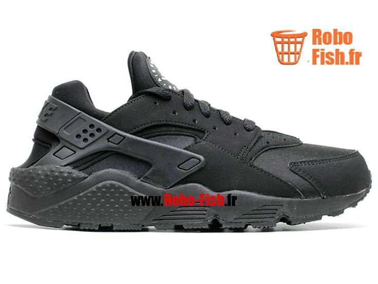 Nike Air Huarache - Chaussure Nike Running Pas Cher Pour Homme Noir 318429-003