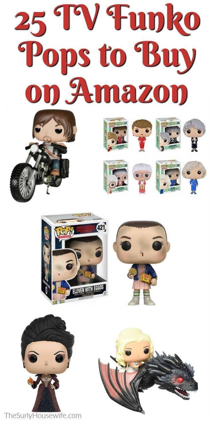 Funko Pop figures are a fun gift for anyone on your Christmas list. Whether you are looking for a last minute Christmas gift or a stocking stuffer, Funko Pop has you covered. This Christmas gift guide has the perfect item for the tv addict in your life: collectables from some of the top tv shows like Stranger Things, The Walking Dead, Game of Thrones, Breaking Bad,  and more! And the best part is you can order them right from Amazon.#Christmas #GiftGuide #Amazon #AmazonPrime #ChristmasGifts