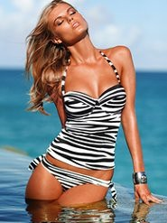 Zebra tankini apozzi: Brazilian Bikinisswimsuit, Bathing Suits, Style, Swimsuits Tankini, Victoria Secret, Summer, Animal Prints, Bath Suits Tankini, Zebras