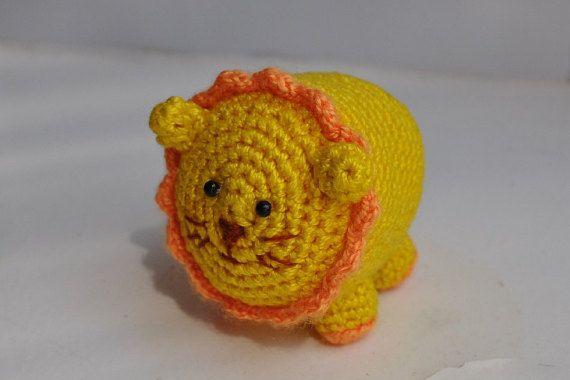 Little Amigurumi Lion : Little crochet lion amigurumi lion crochet toy cute little lion