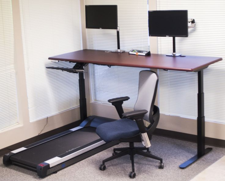 The Ultimate Sit Stand Walk Treadmill Desk Workstation Using IMovRu0027s  ThermoDesk ELITE System