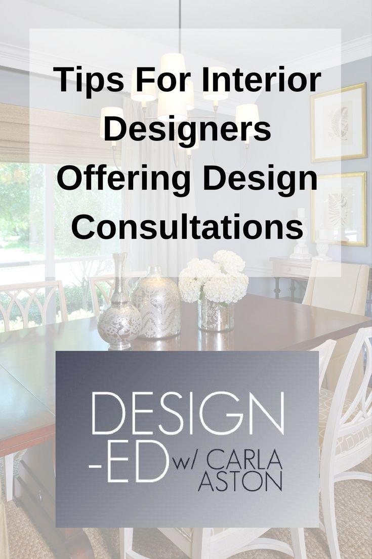 Tips For Interior Designers Offering Design Consultations In 2020