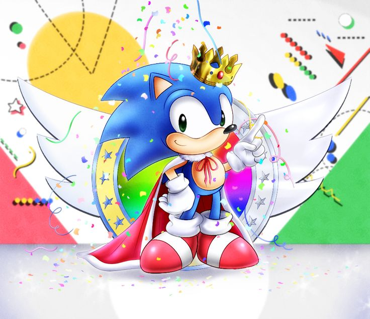 Sonic+25th+Anniversary+by+AlcyoneAX.deviantart.com+on+@DeviantArt