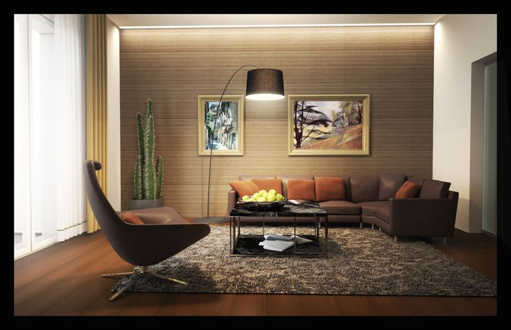 Contemporary Private Apartment - Hungary / living room