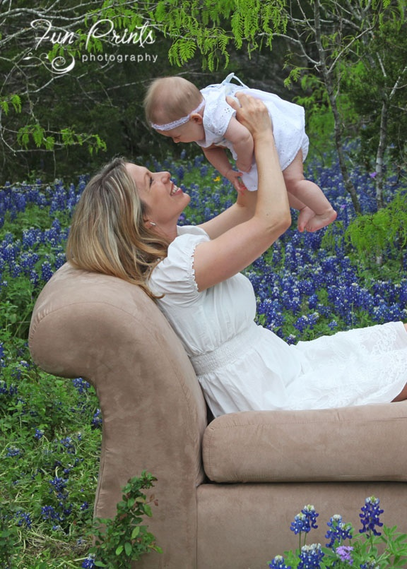 One of my shots in the bluebonnets, the state flower of ...