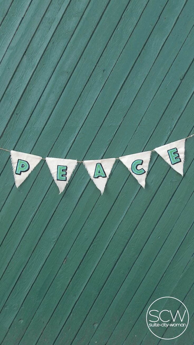 DIY Embroidered Bunting with Download