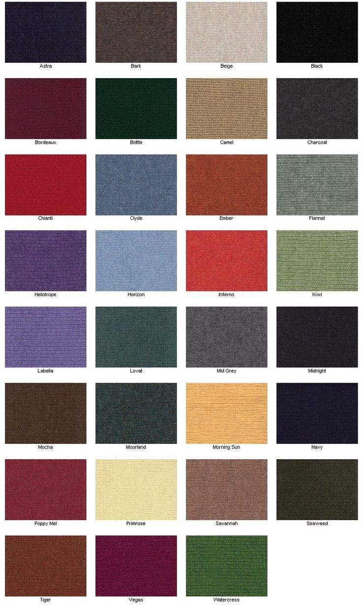 Lockie Lambswool Colours