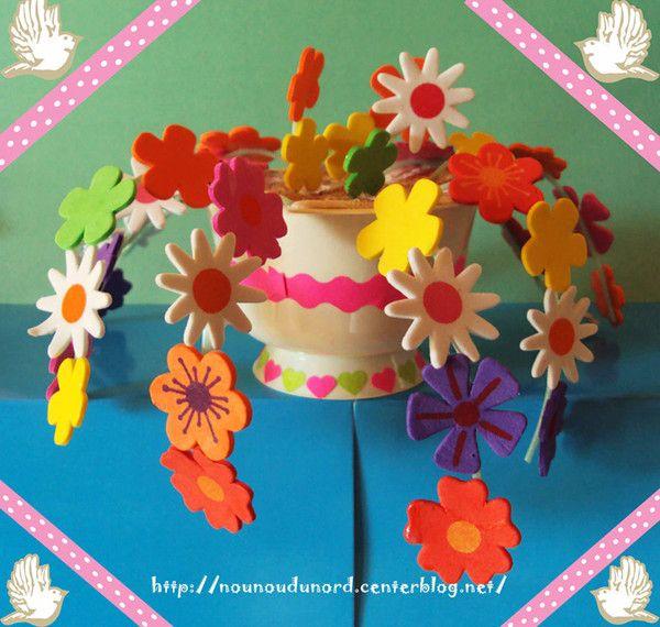 les 52 meilleures images du tableau printemps fleurs activit s manuelles sur pinterest. Black Bedroom Furniture Sets. Home Design Ideas