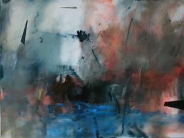 "Saatchi Art Artist Amanda Watson; Painting, ""Imbued"" #art #abstract painting #theotherartfair #abstractlandscape #contemporary art"