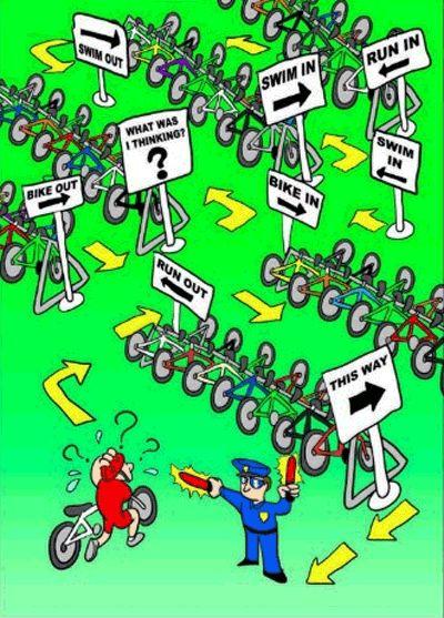 Transition #triathlon #training