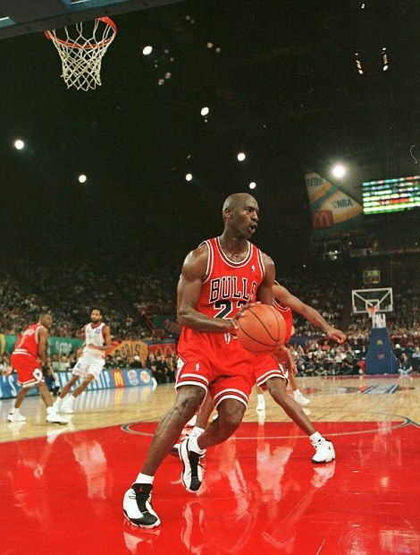Steely: Jordan joined the Bulls from North Carolina in the 1984 NBA draft and instantly became a fans favourite in Chicago