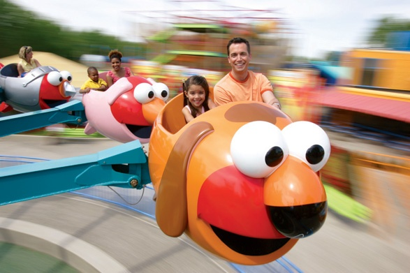 Cant wait to go to Sesame Place park. Only 1 1/2 months to go!
