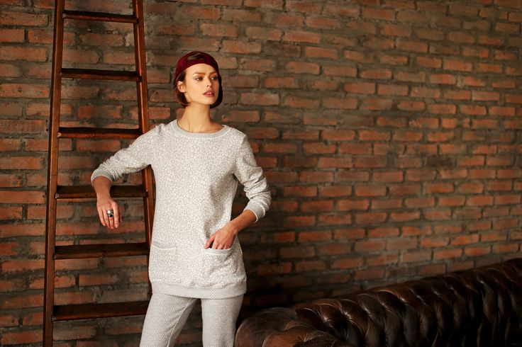 Rosapois FW 15-16 #lingerie #sporty #gorgeous #foreveryoung #loungewear #sporty #chic #grey pic by #benedusi