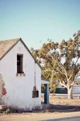 Tired old butchery in St. Helena Bay, South Africa. Photo cred: Renate Engelbrecht