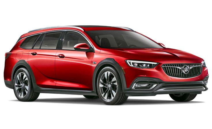 A station wagon with standard all-wheel drive, the Regal TourX is Buick's stylish take on the trend started by the Subaru Outback.