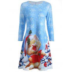 Christmas Print Dresses Special Sale Online - Twinkledeals.com - Twinkledeals.com